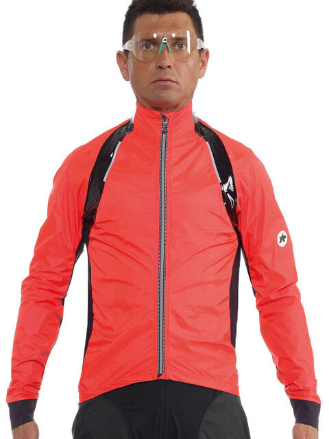 assos rS.sturmPrinz Evo Rain Jacket Men Lolly Red